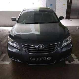 toyota camry 2.4G for rent Uber/Grab ready for rent