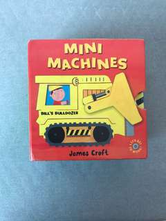 Mini machines story book