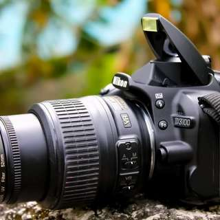 Nikon d3100 with live mode Video
