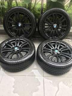 "BMW M Sport 17"" Rims + Tyres"