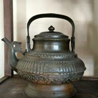 Brunei antique teapot