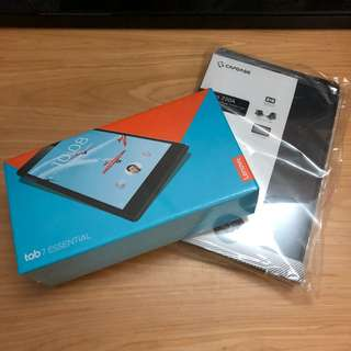 Lenovo Tab 7 Essential 16GB w/ CAPDASE folder case