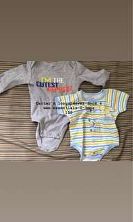Pre-loved Onesies for Baby boys