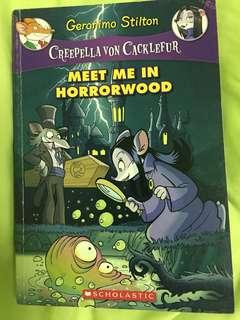 Geronimo Stilton Creepella Von Cacklefur : Meet Me In Horrorwood