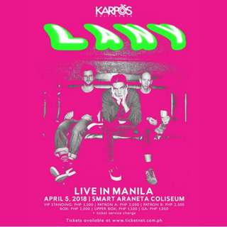 Looking for Lany Day 2 tickets