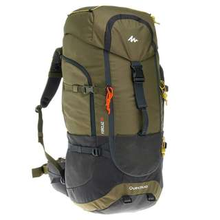 Decathlon 70 liters hiking backpack