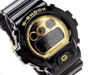 G-shock6900黑金