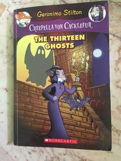 Geronimo Stilton : Creepella Von Cacklefur - The Thirteen Ghosts