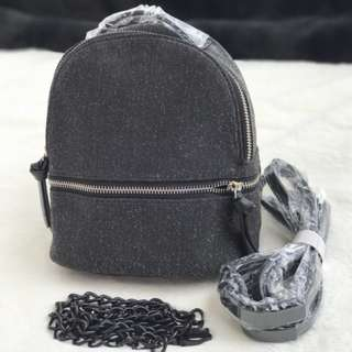 Zara backpack + tali panjang