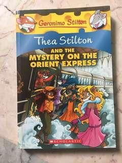 Geronimo Stilton Thea Stilton and The Mystery of Orient Express