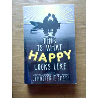 This Is What Happy Looks Like (Signed, Preloved, Paperback)
