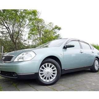 2005年 日產 TEANA 2.3 最頂級 全車原鈑件 里程保證 全額貸款