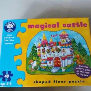 Orchard toys magical castle Puzzle - 40 pcs