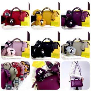 [FENDI BOSTON BY THE WAY 72270] Tas Fashion Wanita Impor Murah
