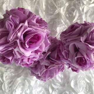 Artificial Silk flower balls