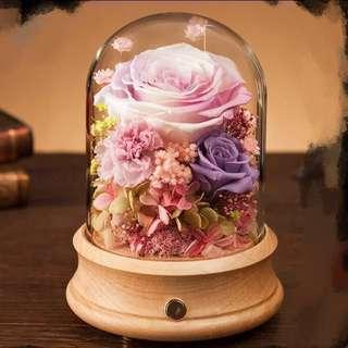 Bluetooth speaker set Preserved flower (Ecuador preserved rose)