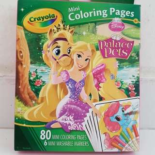 Crayola Palace Pets Mini Colouring Pages