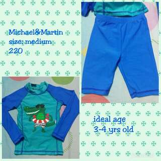 Baby crocodile rash guard