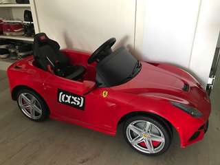 Brand new Ferrari car