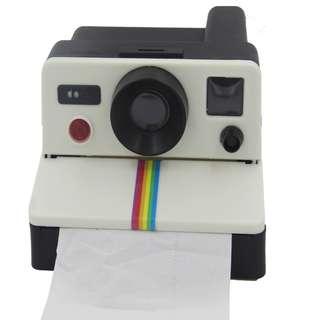 寶麗萊相機形 洗手間 廁紙筒