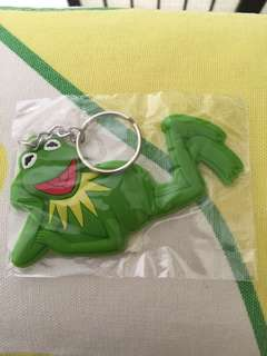 BN authentic outerspace taiwan kermit the frog keychain