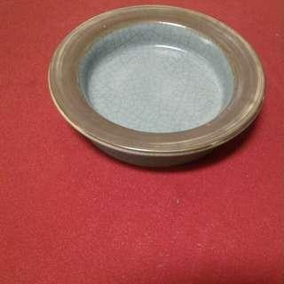 瓷器毛笔洗盘
