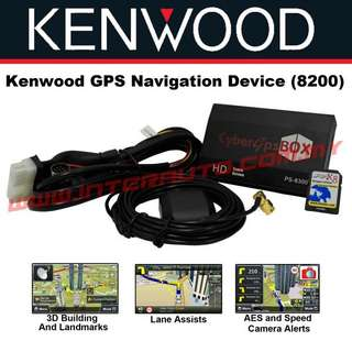 KENWOOD PS-8200 GPS NAVIGATOR NAVI-BOX PAPAGO