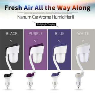 Blue water Car Air Humidifier