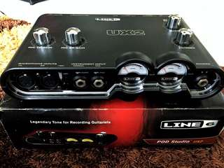 FS: USED Line 6 UX2 USB Interface