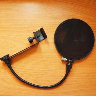 麥克風罩 防噴罩 直撥錄音 防爆音