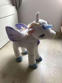 Fur real friends unicorn talking toy