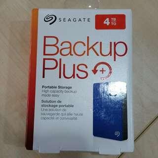 Seagate Backup Plus 4TB external portable USB 3.0