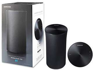 Samsung R1 (WAM1500) WiFi/Bluetooth Wireless Audio 360 Speaker - Black