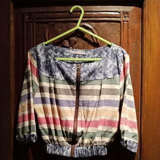 crop top jacket
