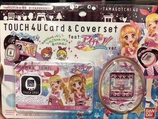 Tamagotchi 4u / 4u+ Aikatsu Face plate and Touch Card