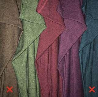 Double Loop Instant Shawl   Cotton Denim