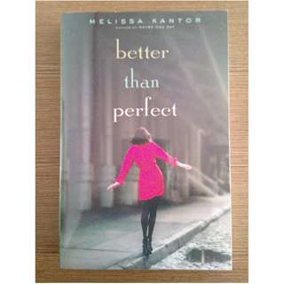 Better Than Perfect (Signed, Preloved, Paperback)
