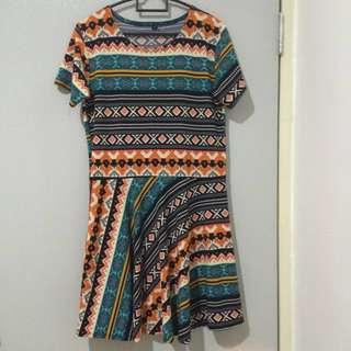 Aztec/Tribal Print Dress II