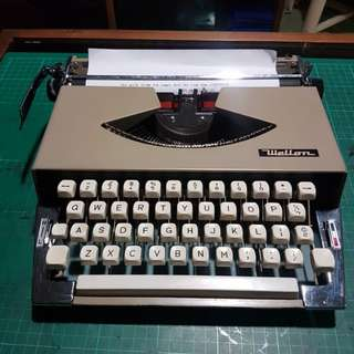 wellton typewriter