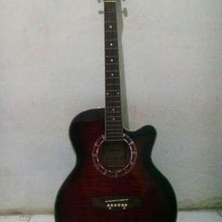 Gitar elektrik akustik