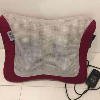Irest back cushion massager maroon