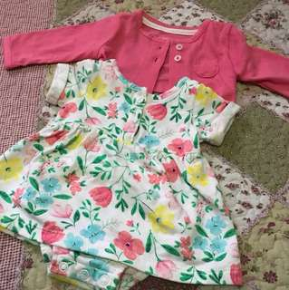 Carters Dress Set