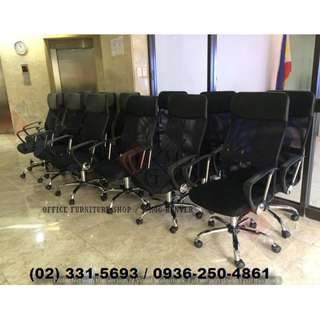 High Back -Mesh Chairs- Office Partition*Furniture