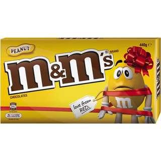 M&M Peanuts 440g