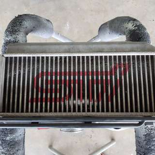 STi top mount intercooler