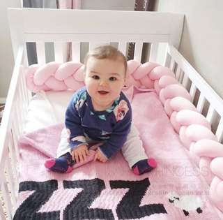 • (Last 2/INSTOCK) Baby Safety Bumper Pillow
