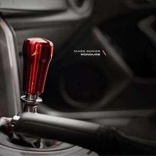 Raceseng Rondure Weighted Shift Knob Red Translucent