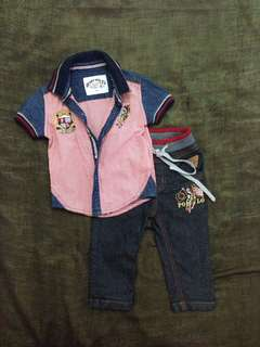 Authentic baby polo
