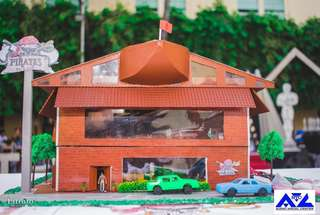 Themed Restaurant Miniature