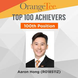 OrangeTee Top Achiever 2017: 100th Position